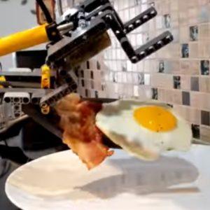 ontbijt met lego