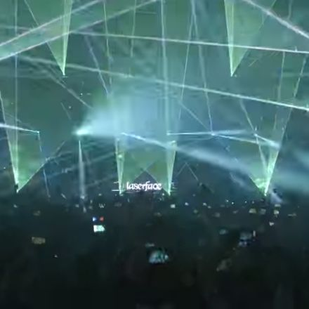 Lasershow, Gareth Emmery - Stay With Me, Laserface