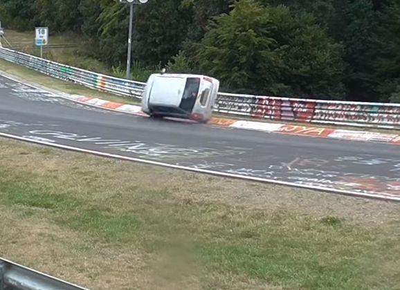 Mooie safe op het Nürburgring circuit