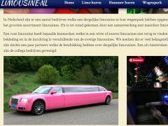 Roze Limousine Huren?