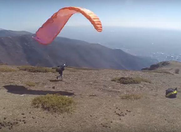 Paragliding Fails Compilatievideo