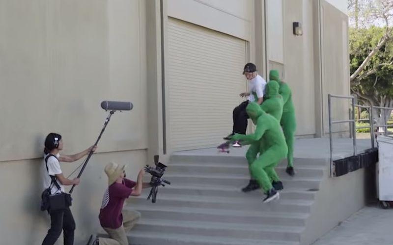 Aha, dus zo wordt een skateboard video gemaakt