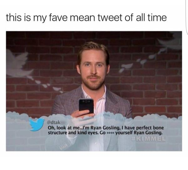 Ja Ryan Gosling, ga dat eens doen
