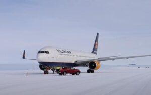 Vliegveld op Antarctica beheren