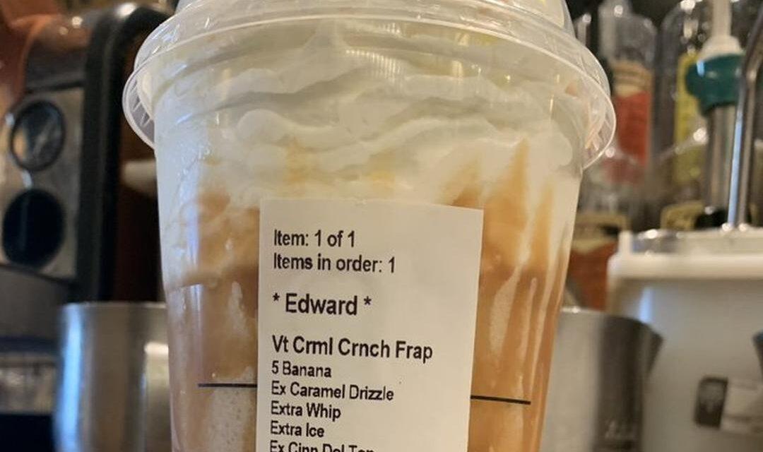 Ingewikkeld bestellen bij Starbucks, zorgt voor ontslag Barista