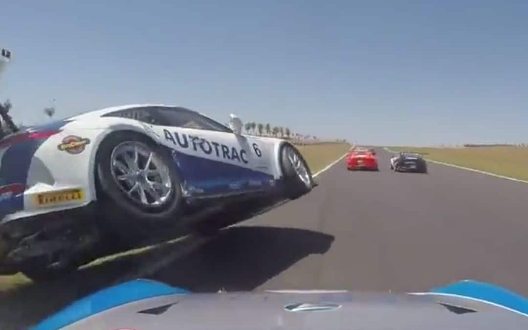 Koprol met een 250K Porsche